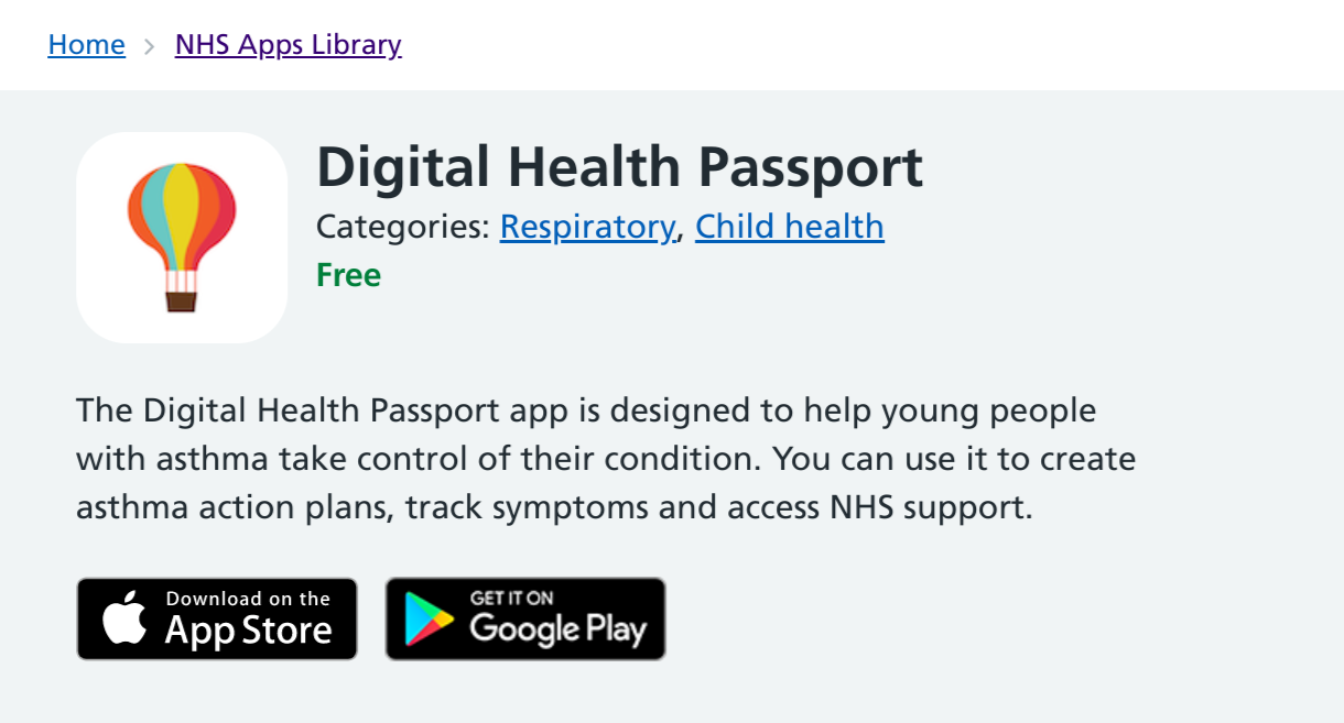 The Digital Health Passport enters the NHS Apps Library